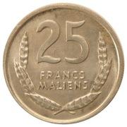 25 Francs Maliens – reverse