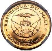 10 Francs (Independence) – obverse