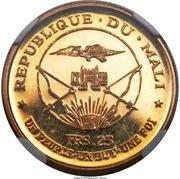25 Francs (Independence) – obverse