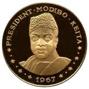 "50 Francs (President Modibo Keita, ""1967"") – reverse"