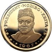 "100 Francs (President Modibo Keita, ""1967"") – reverse"