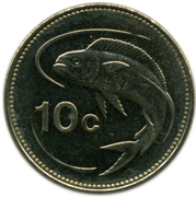 10 Cents -  reverse