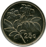 25 Cents -  reverse