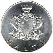2 Pounds (Fort St. Angelo) – obverse