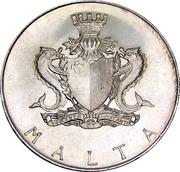 2 Pounds (Francesco Abela) – obverse