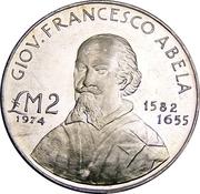 2 Pounds (Francesco Abela) – reverse