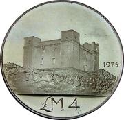 4 Liri (St. Agatha's Tower) – reverse