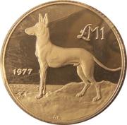 1 Lira (Maltese Hunting Dog) – reverse