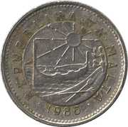 5 Cents – obverse
