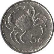 5 Cents – reverse