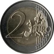 2 Euro (Malta Police Force) -  reverse