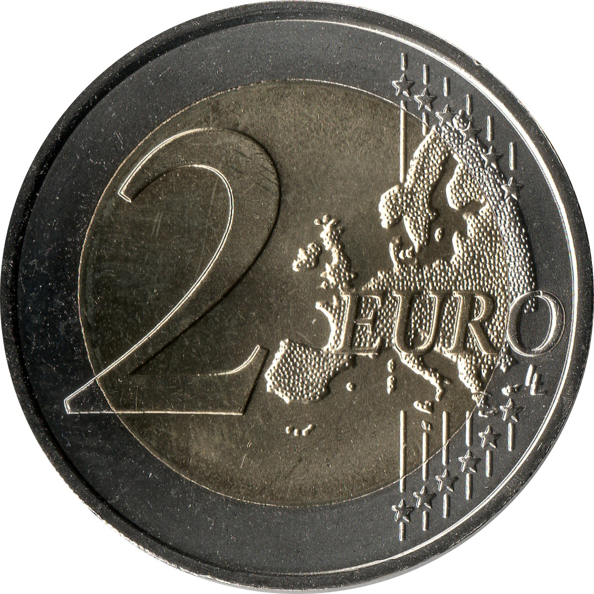 MALTA NEW ISSUE BIMETAL 2 EURO UNC COIN 2014 YEAR 50th ANNI INDEPENDENCE