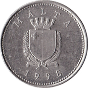 2 Cents – obverse