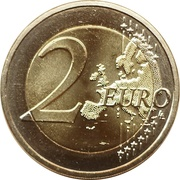 2 Euro (Independence in 1964) -  reverse