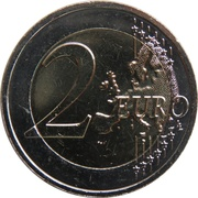 2 Euro (Republic of Malta 1974) -  reverse