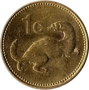 1 Cent -  reverse
