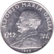 2 Liri (Alfonso Maria Galea) – reverse