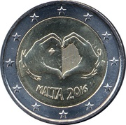 2 Euro (Children and solidarity - Love) -  obverse