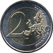 2 Euro (Children and solidarity - Love) -  reverse