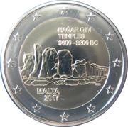 2 Euro (Ħaġar Qim Temples) -  obverse