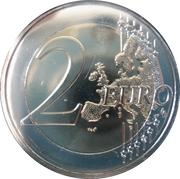 2 Euro (Ħaġar Qim Temples) -  reverse