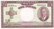 1 Pound (L. 1949) – obverse