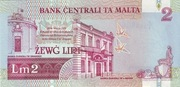 2 Liri (With security thread) – reverse