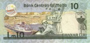 10 Liri – reverse