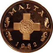 1 Cent (Decimalization) – obverse