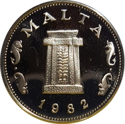 5 Cents (Decimalization) – obverse