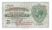 1 Shilling (Overprint) – obverse