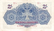 1 Shilling (Overprint) – reverse