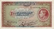 2 Shillings 6 Pence – obverse
