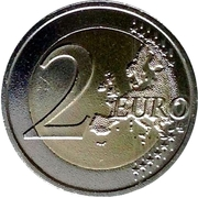2 Euro (The Peace) -  reverse