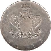 1 Pound (Sir Temi Zammit) – obverse