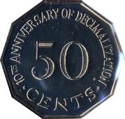 50 Cents (Decimalization) – reverse