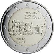 2 Euro (Mnajdra Temples) -  obverse