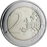 2 Euro (Mnajdra Temples) -  reverse