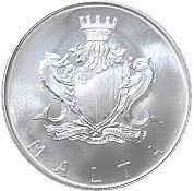 1 Pound (Manwel Dimech) – obverse