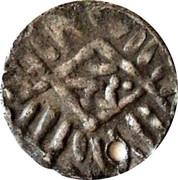 Fractional Dirham - al-Nāṣir Muḥammad IV (Burji dynasty - Halab mint) – obverse
