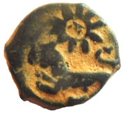 Fals - al-Nāṣir Muhammad I (Bahri dynasty - Trablus Mint) – reverse