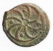 Fals - al-Ashraf Sha'ban II (Bahri dynasty - Trablus Mint) – reverse