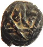 Fals - Anonymous - temp. al-Nāṣir Muhammad I / al-Salih Isma'il (Hamah Mint) – reverse