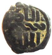 Fals - al-Nāṣir Muhammad I (Bahri dynasty - Hamah Mint) – obverse