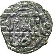 Fals - al-Ashraf Sha'ban II (Bahri dynasty - Hamah Mint) – obverse