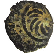 Fals - al-Nāṣir Muhammad I (Bahri dynasty - Hamah Mint) – reverse