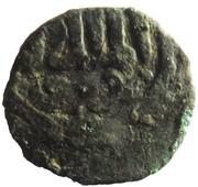 Fals - al-Nāṣir Muhammad I (Bahri dynasty - Dimashq Mint) – obverse