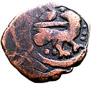 Fals - al-Salih Salih (Bahri Dynasty - Halab Mint) – obverse
