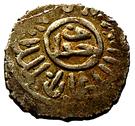 Dirham -al-Ẓāhir Khushqadam (Burji dynasty) – reverse