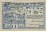 10 Heller (Manglburg) – obverse